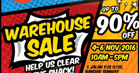 Radioshack Warehouse Sale Feat 31 Oct 2016