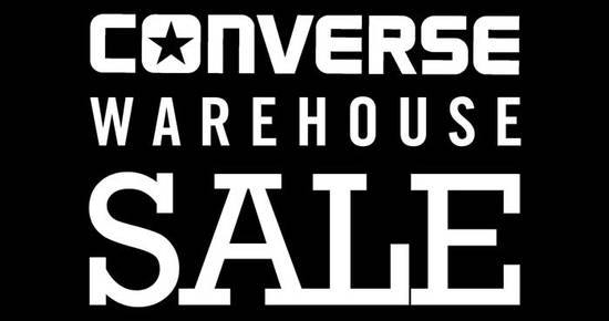 Converse Warehouse Sales Feat 18 Nov 2016