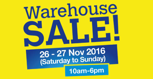 Scholl Warehouse Sale Feat 19 Nov 2016