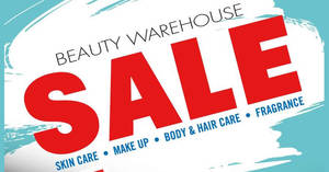 International Beauty Brands Warehouse Sale at Luxor Tech Centre Kota Damansara from 15 – 17 Dec 2016