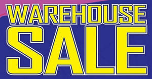 Metrojaya warehouse sale with up to 70% off at Shah Alam from 8 – 12 Dec 2016
