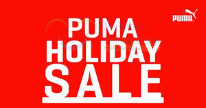 PUMA holiday sale offers discounts of up to 70% off at KOMTAR JBCC Johor Bahru from 9 – 18 Dec 2016