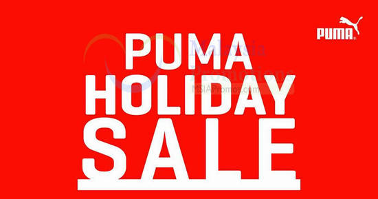 PUMA sale feat 9 Dec 2016