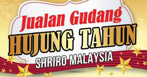 Shriro warehouse sale at Petaling Jaya from 16 – 17 Dec 2016