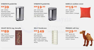 Save up to RM60 with IKEA's monthly deals valid from 30 Jan – 26 Feb 2017
