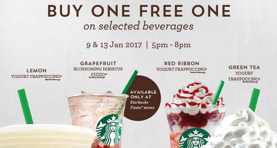Starbucks feat 9 Jan 2017