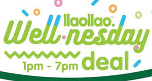 llaollao offers 33% off medium & large tubs & Sanums on 18 Jan 2017