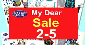 My Dear sale at Wisma Minlon from 2 – 5 Mar 2017