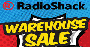 RadioShack warehouse sale returns! Enjoy discounts of up to 90% off from 30 Mar – 9 Apr 2017