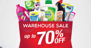 RB warehouse sales at IDCC Shah Alam from 28 – 30 Apr 2017
