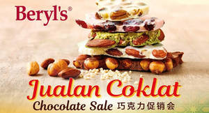 Beryl's chocolate warehouse sale at Selangor from 1 – 23 Jun 2017