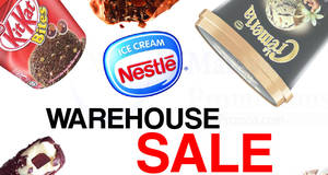 Nestle Warehouse Sale at Seremban from 26 – 27 May 2017