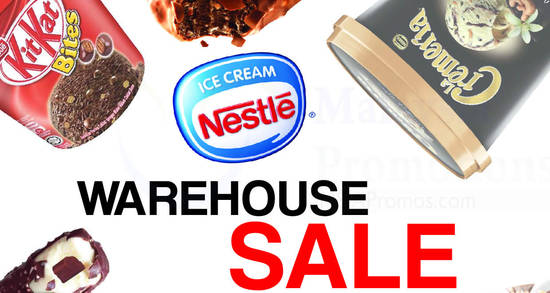 Nestle Warehouse Sale feat 24 May 2017