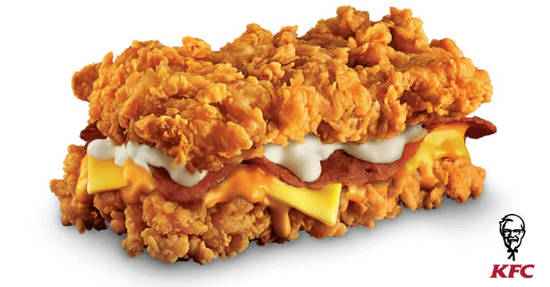 KFCs Zinger Double 18 Jul 2017