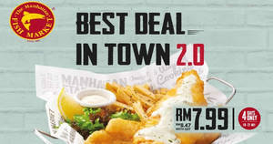 Manhattan FISH MARKET's Best Deal in Town is BACK! From 18 – 21 Jul 2017