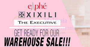 Ellphe, XIXILI & The Executive Warehouse Sale at Jaya 33! From 23 – 27 Aug 2017