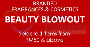 Luxasia branded fragrances & cosmetics sale at Mid Valley City KL from 16 – 18 Aug 2017