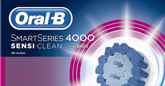 Oral B Smart Series 4000 Sensi feat 7 Oct 2017