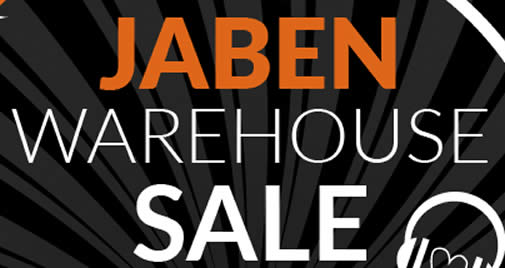 Jaben Warehouse Sale feat 15 Nov 2017