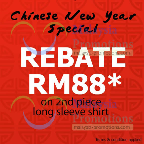 Featured image for Celio* RM88 OFF On 2nd Piece Long Sleeve Shirt 22 Jan 2013