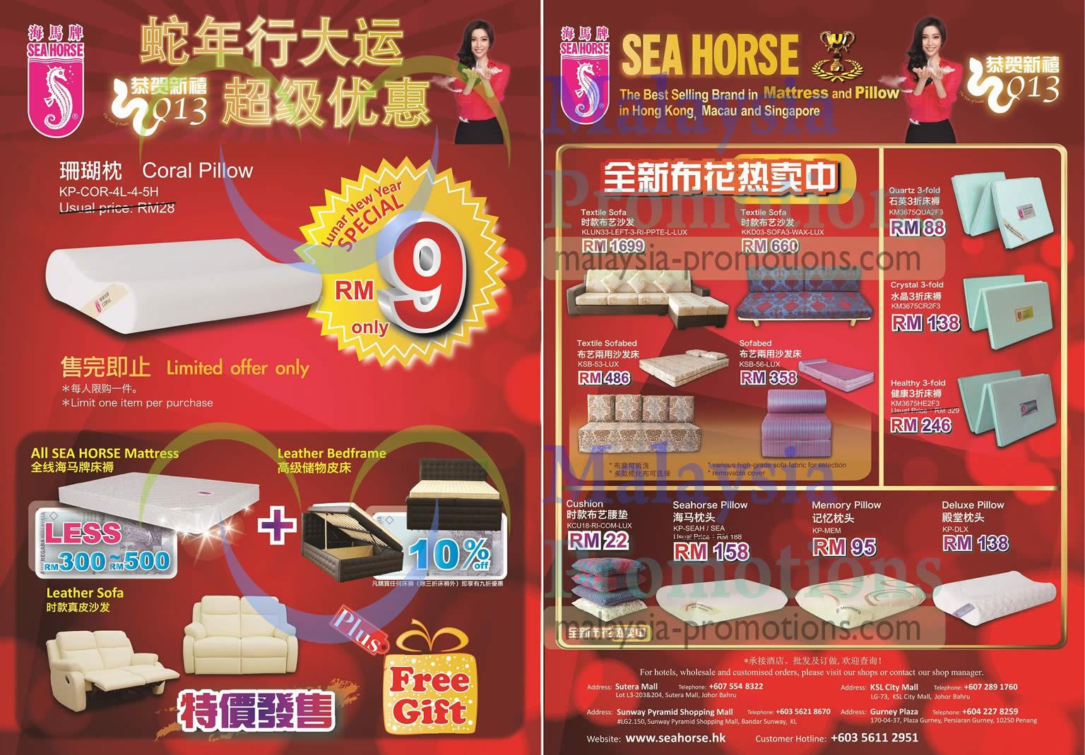 Seahorse Sofa Bed Malaysia Brokeasshome Com