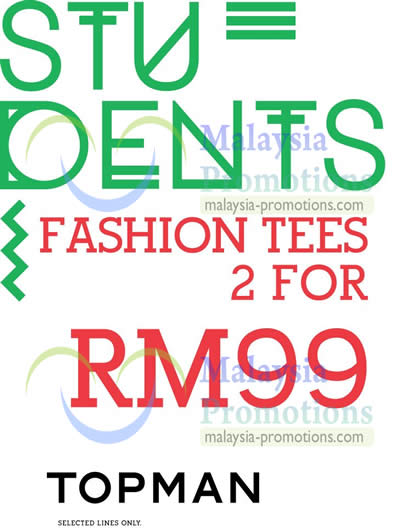 Fashion Tees 2 For RM99