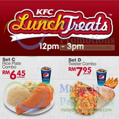 Lunch Treats – Rice Plate Combo, Twister Combo