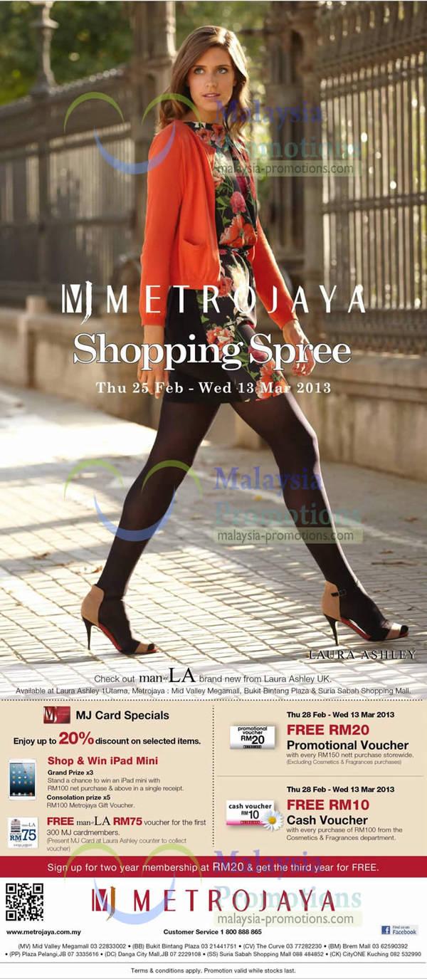 Featured image for Metrojaya Shopping Spree Sale Event 25 Feb – 13 Mar 2013