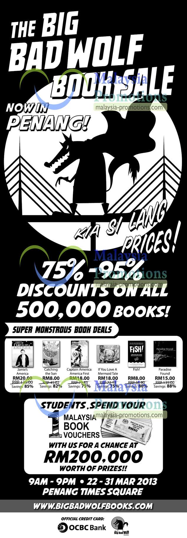 Big Bad Wolf Books Penang 22 Mar 2013