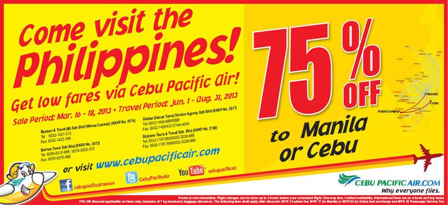 Cebu Pacific Air 15 Mar 2013
