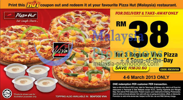 Page 5 Pizza Hut Delivery Oct 2020 Msiapromos Com