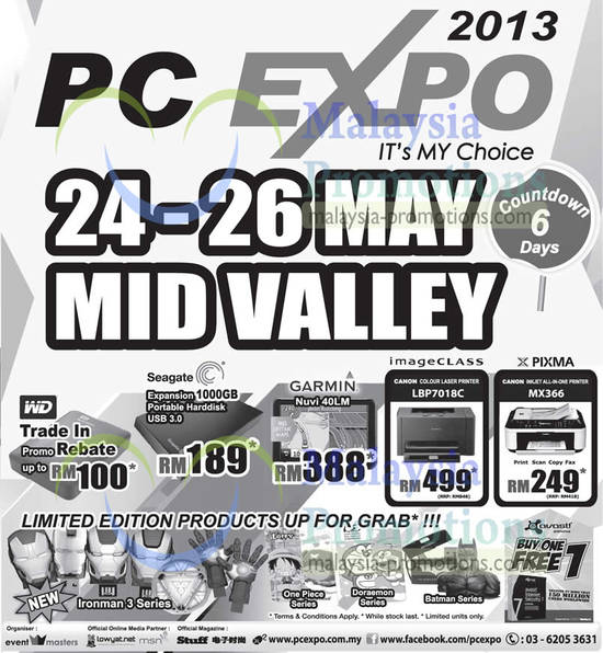 Featured image for PC Expo 2013 @ Mid Valley 24 - 26 May 2013