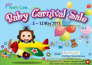 Featured image for Mom's Care Baby Carnival Sale @ Queensbay Mall 3 – 12 May 2013