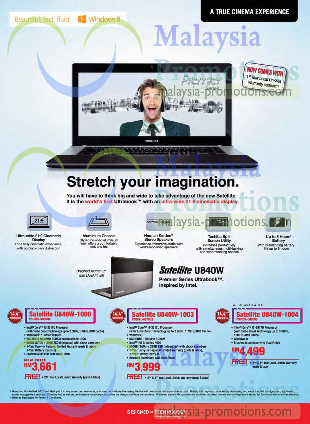 Toshiba AIO Desktop PCs, Notebooks & Tablets Price List