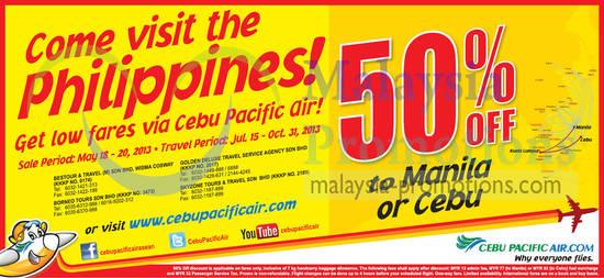 Cebu Pacific Air 18 May 2013