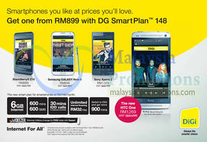Featured image for Digi Smartphone Offers 15 May 2013