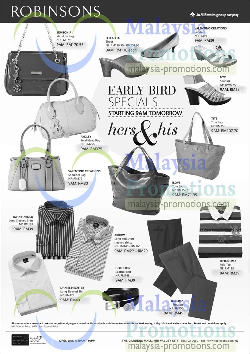 Handbags Mens Shirts Sembonia Itti Otto Radley John Harold Arrow Goldlion Daniel Hechter Ilove Nyc Valentino Creations
