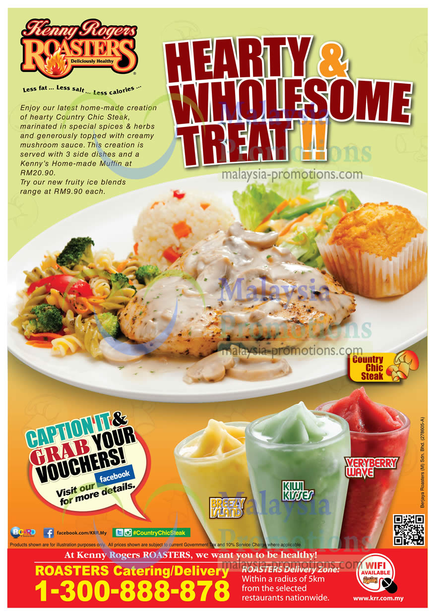 Kenny Rogers Roasters New Country Chic Steak 7 May 2013