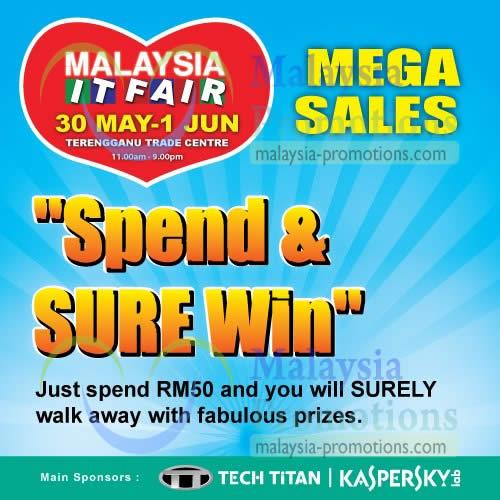 Featured image for Malaysia IT Fair @ Terengganu Trade Centre 30 May - 1 Jun 2013