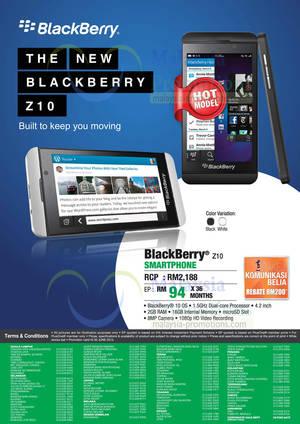 Featured image for Senheng Blackberry Q10 & Blackberry Z10 Price Offers 6 Jun 2013