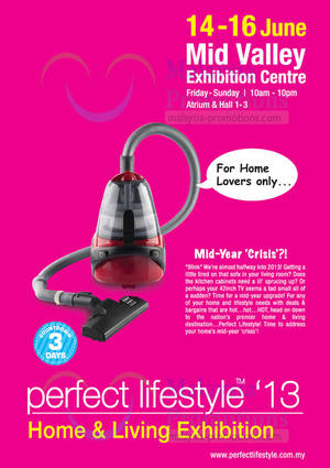 Featured image for Perfect Lifestyle 2013 Home & Living Exhibition @ Mid Valley 14 – 16 Jun 2013