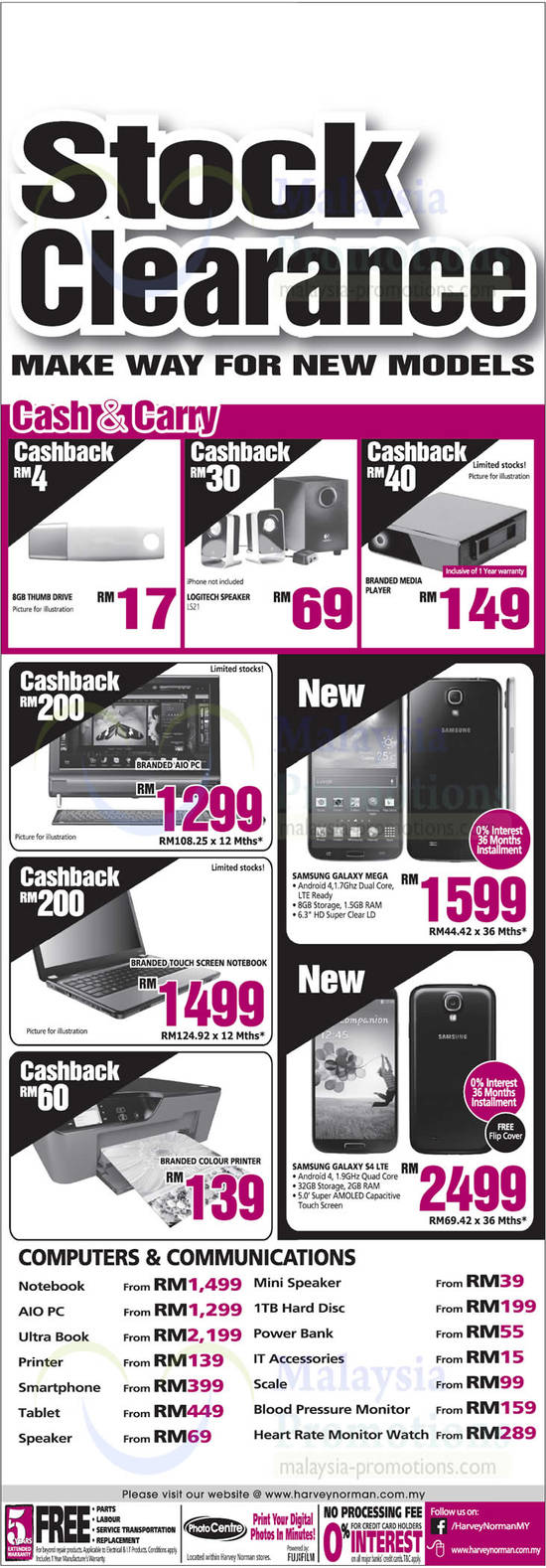Featured image for Harvey Norman Digital Cameras, Furniture, Notebooks & More Offers 22 - 28 June 2013