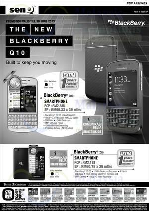 Featured image for Senheng Blackberry Smartphone Offers 21 Jun 2013
