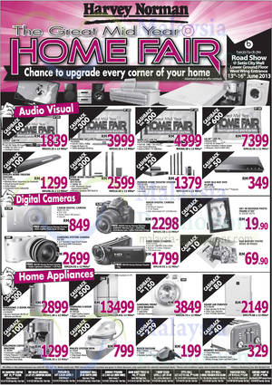 Featured image for Harvey Norman Digital Cameras, Furniture, Notebooks & More Offers 8 – 14 Jun 2013