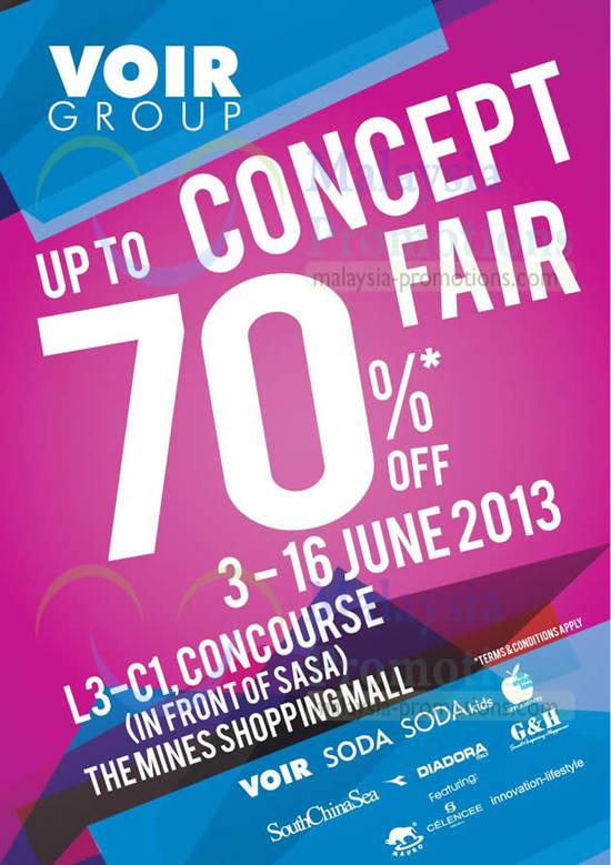 Voir Group Concept Fair 31 May 2013