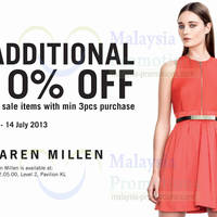 9798cc7d00f Warehouse, Karen Millen, Dorothy Perkins & Ben Sherman 10% Off Sale ...