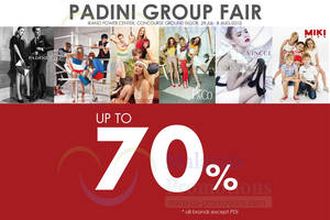 Featured image for Padini Group Fair Up To 70% Off @ Ikano Power Centre 29 Jul – 8 Aug 2013