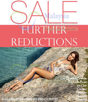 Featured image for Shoeville Further Reductions @ Bangsar Shopping Centre 31 Jul 2013