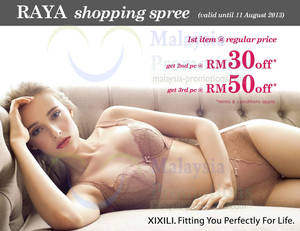 Featured image for XIXILI Raya Shopping Spree Up To RM50 Off Promo 25 Jul – 11 Aug 2013