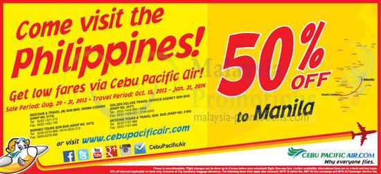 Cebu Pacific Air 29 Aug 2013